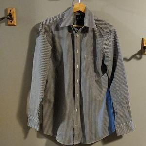 Stafford Striped Dress Shirt